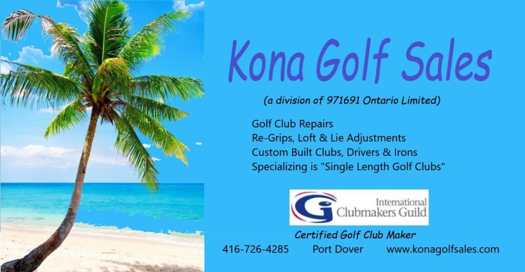 Kona Golf Sales - Port Dover, ON